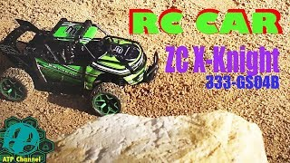 RC Car : Unboxing & Test Drive X-Knight ZC 333-GS04B 2.4Ghz, 4WD, (Scale 1:18)