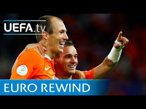 EURO 2008 highlights: France 1-4 Netherlands