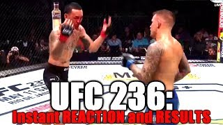 UFC 236: Reaction and Results