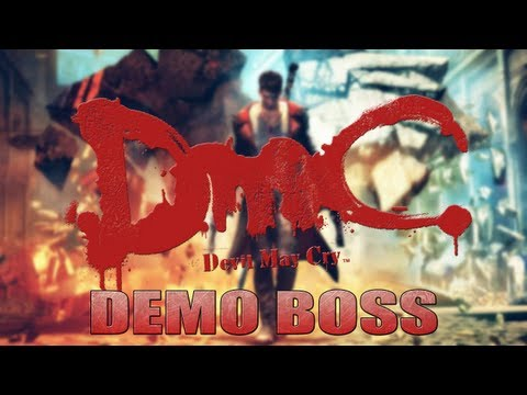 DMC Devil May Cry - DEMO Luta Contra o Boss