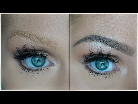 EASY DRUGSTORE EYEBROW TUTORIAL