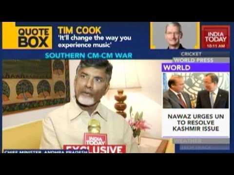 Chandrababu Naidu On Cash For Vote Scam, Alleged Phone Tapping Scandal, & More