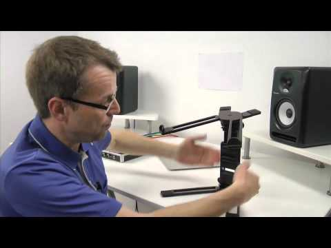 Hercules Stands DG400BB DJ Laptop Stand Review