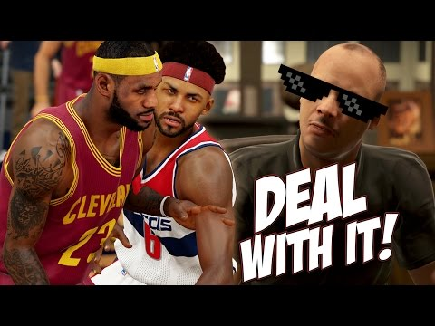 NBA 2K15 MyCareer #5 - Payneful Game For LeBron James! Are We Starting Material?