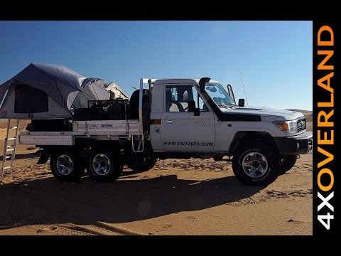 Toyota Land Cruiser 6x6. How Good Is It? Dubai-Oman Part-2