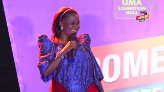 Alex Muhangi Comedy Store April 2019 - Ssenga Justine NANTUME