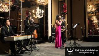 Imelda Teo performs The Wedding (Ave Maria) with The Shanghai Swingers