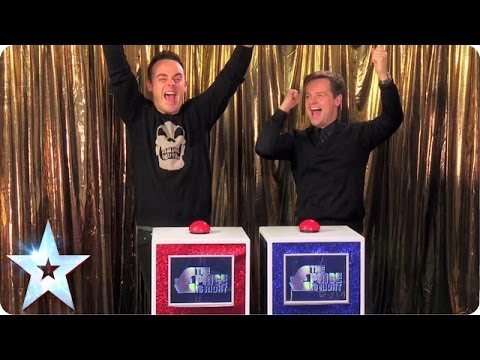The Price Is Right With Ant And Dec |  Britain's Got More Talent 2014