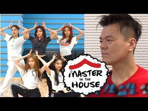 Download JYP's Checking ITZY's Dalla Dalla Choreography Master in the House Ep 61 Mp4 baru
