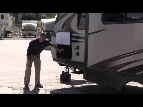 Flagg RV  - New 2015 Keystone RV Bullet Premier Ultra Lite Travel 243BHS