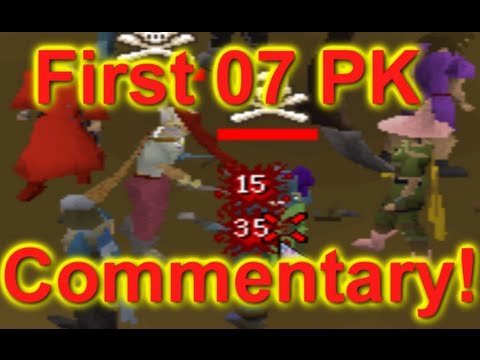 Runescape 2007 | B0aty - First PK Commentary