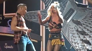 Britney Spears Handled Her Bra Popping Open on Stage Like a Total Pro