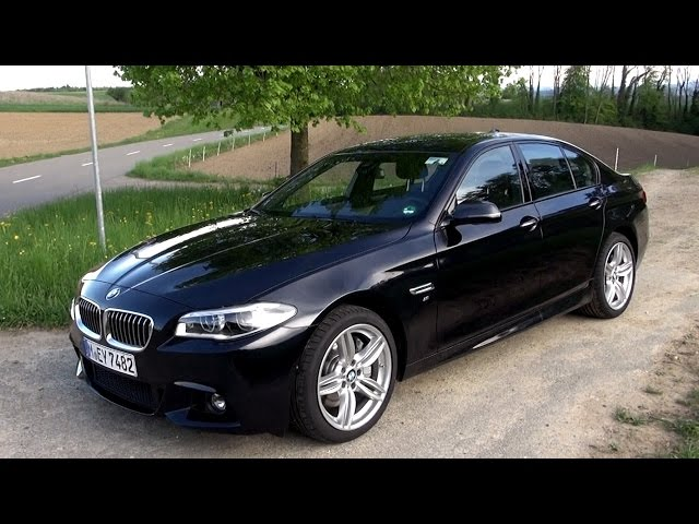 2015 BMW 530d (258 HP) Test Drive - YouTube