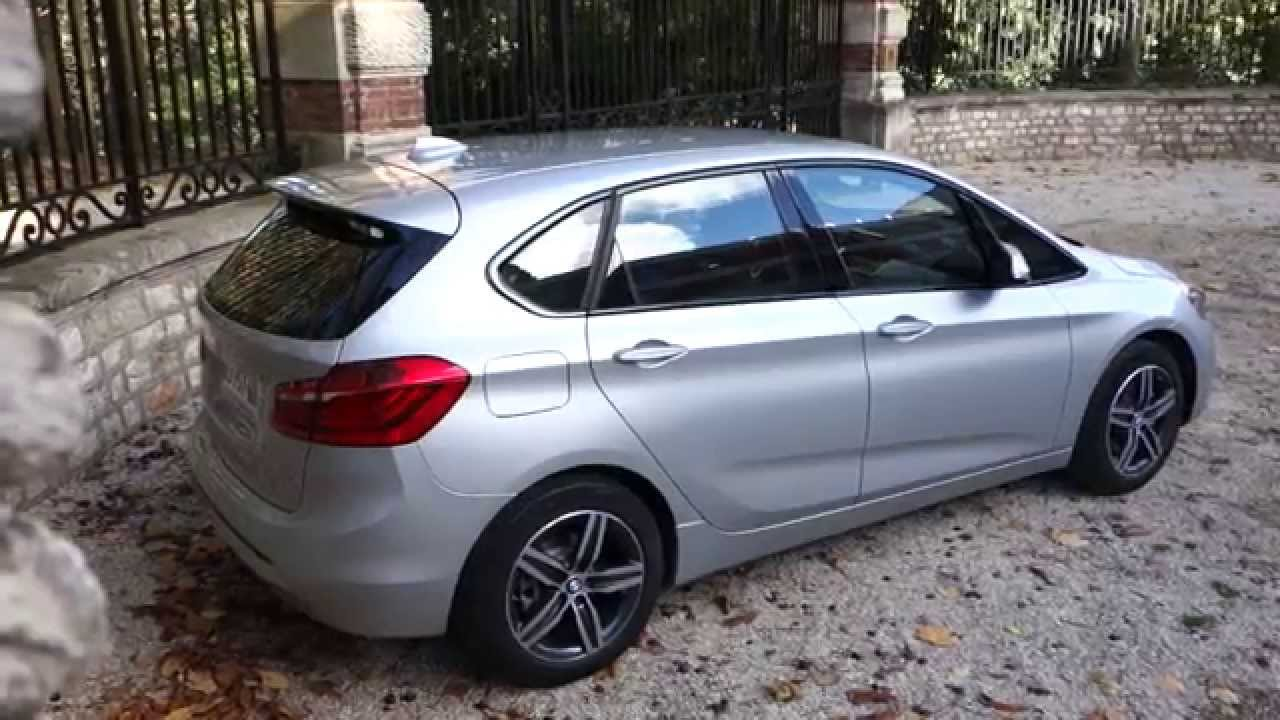 bmw 218i active tourer sport essai l 39 argus youtube. Black Bedroom Furniture Sets. Home Design Ideas