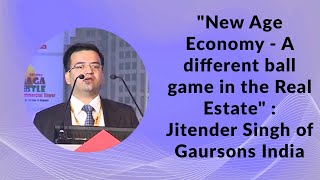 New Age Economy - A different ball game