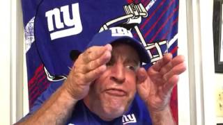 Giants Locker Room: You're Crying?! | Football | NY Giants | Vic DiBitetto