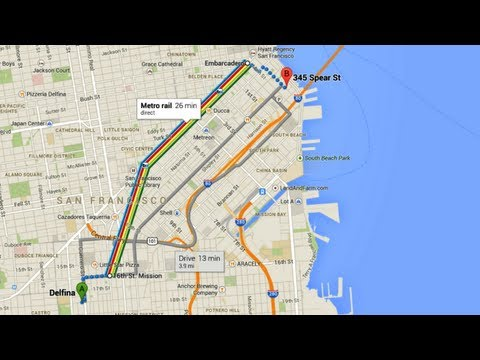 How to use the new Google Maps: Directions