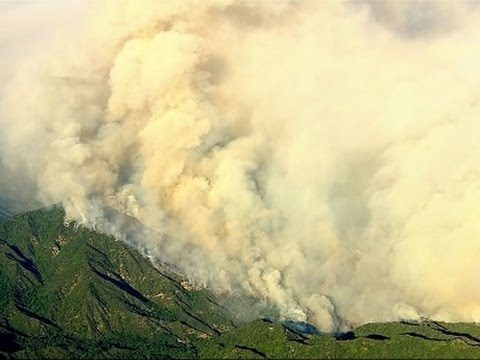 California Wildfires Burn Near Homes