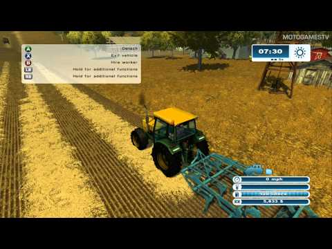 Farming Simulator 2013 Xbox 360 - First Minutes