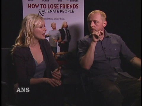 KIRSTEN DUNST AND SIMON PEGG ANS INTERVIEW