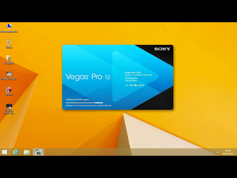 Open Action files on Sony Vegas in Windows 8.1 Pro!!