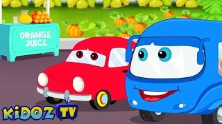 What's The Color | Learn Colors With Vehicles | Song by Sean The Bus