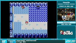Pokemon Blue (151 Pokemon) by Shenanagans in 1:58:56 - Summer Games Done Quick 2015 - Part 141