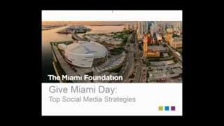 Give Miami Day 2015: Top Social Media Strategies