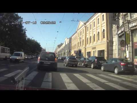 Авария Литейный пр-т 17.07.14