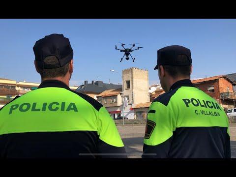 CAPITAL DE LA SIERRA - ENTRA UN DRON EN SERVICIO EN COLLADO VILLALBA