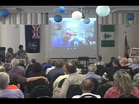 Video chat with Mayor Michael Warren on Pitcairn Island