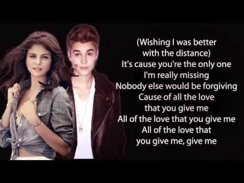 Justin Bieber - Strong Ft Selena Gomez (Lyrics)