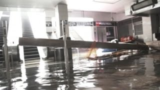 Superstorm, Hurricane Sandy 2012: Inside NYC's Flooded Subways