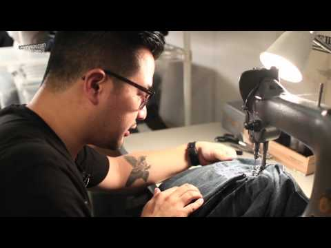 Complex How to: Repair your jeans with Self Edge NYC