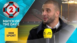'I forgot I was in net' - Kyle Walker on THAT Champions League appearance in goal | MOTD2
