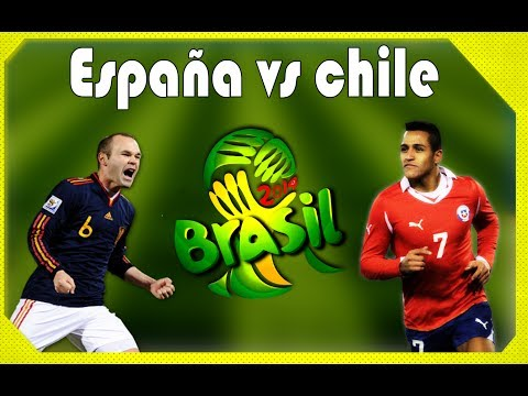 España Vs Chile Copa Mundial Brasil 2014