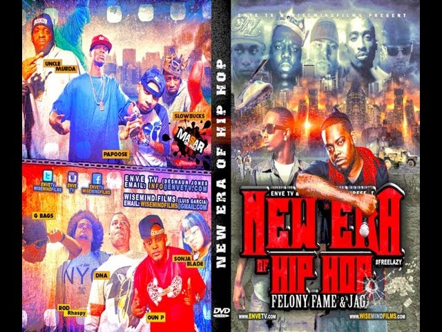 "Enve T.V & Wisemindfilms: ""New Era Of Hip Hop"" DVD Trailer"
