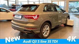 New Audi Q3 S line 2019 - full in depth review in 4K (interior - exterior)