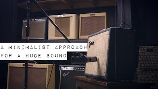 Guitar Amp Recording - A minimalist approach for a huge sound