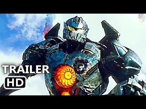 PACIFIC RIM 2 Official Trailer # 2 (2018) Uprising, Fighting Robot Movie HD thumbnail