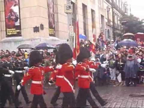 Desfile Militar del 16 de septiembre 2013 Marcha de Ejércitos extranjeros Zócalo Francia, USA, etc.