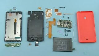 Disassembly Lumia 1320 Full