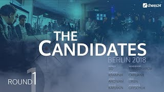Round 1 - 2018 FIDE Berlin Candidates - Live Commentary