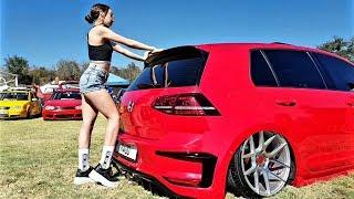 VW GTI MK7 BODY KIT R400  🔋🍭 la chica de la paleta 😍