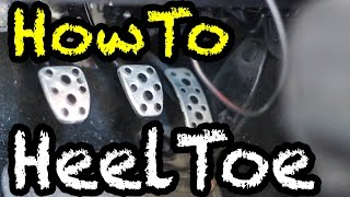 How to Heel-Toe Downshift | Advanced Manual Techniques