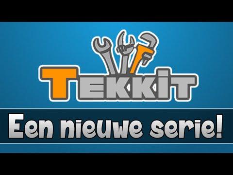 EEN NIEUWE SERIE! - MineCraft TEKKIT! - Aflevering 1
