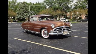 """1951 Hudson Hornet """"Tribute"""" in Texas Tan Paint & Engine Sound on My Car Story with Lou Costabile"""