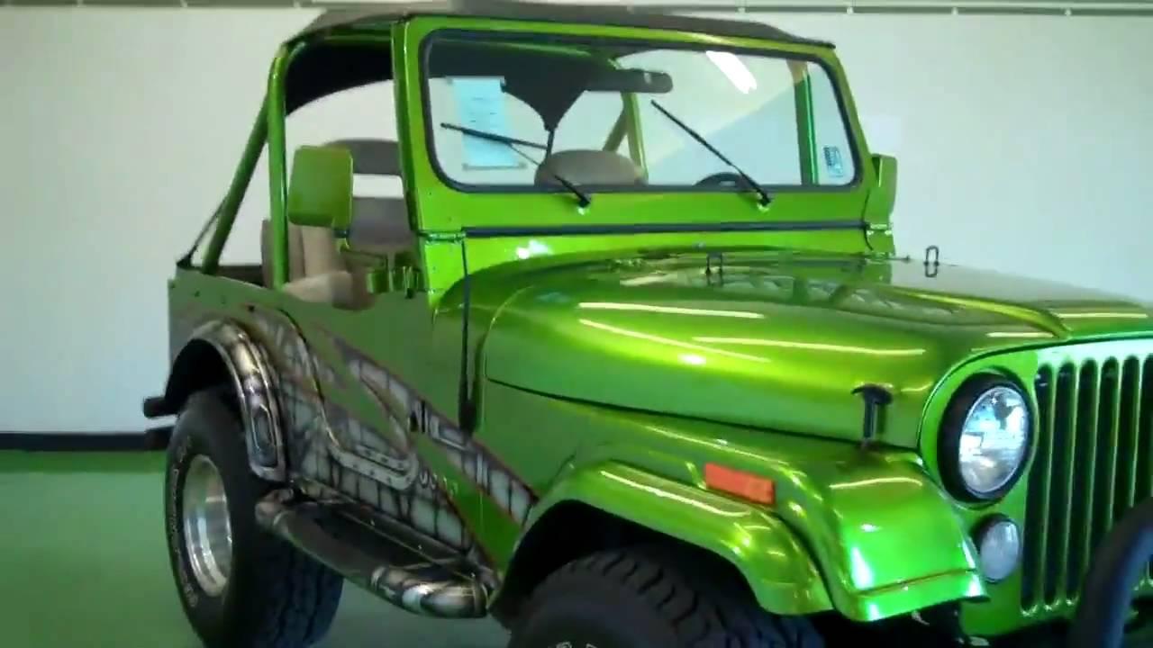 The Sharpest Rides 1978 Jeep Cj5 B21259 Youtube