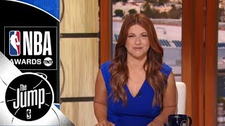 Rachel Nichols recaps the NBA Awards' best and most awkard moments | The Jump | ESPN
