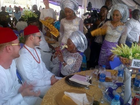 Best Of Culture In Igbo Traditional Wedding - Scene 1 video